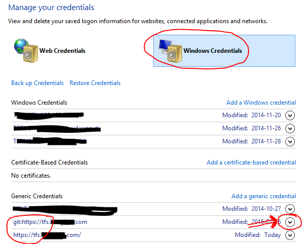 Team Foundation Error – BasicAuthCredential is not marked as