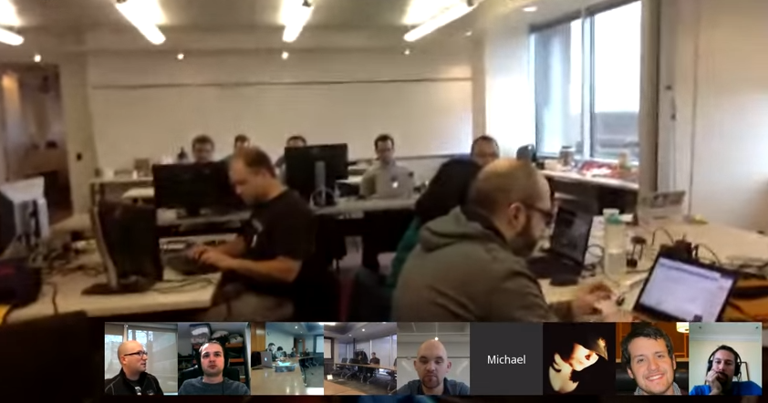 Our Weekly Standup - This Time During the Global Code-A-Thon