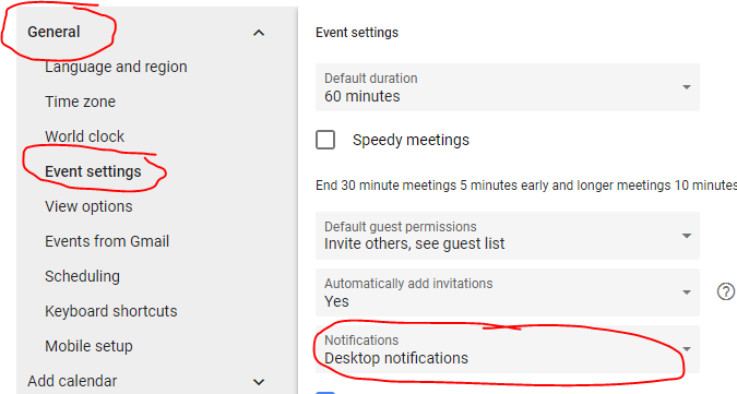 Enable Google Chrome Desktop Notifications from Gmail | They Call Me