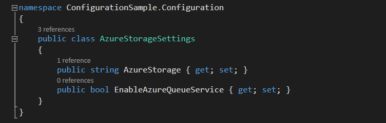 Strongly-Typed Settings Classes in ASP.NET Core